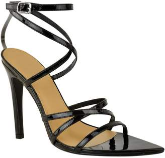Barely There Fashion Thirsty Womens High Heel Party Prom Sandals Ankle Strap Shoes Size 7