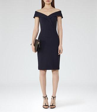 Haddi Off-The-Shoulder Dress $370 thestylecure.com