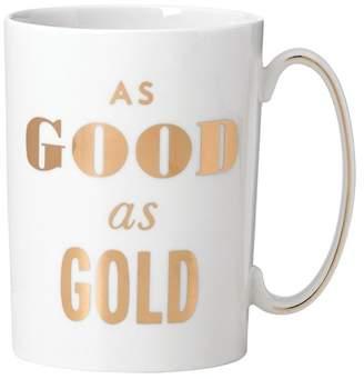 Kate Spade Good As Gold Mug
