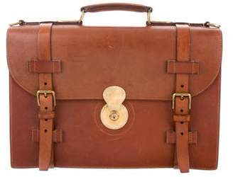 Ralph Lauren Ricky Leather Briefcase