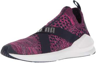 Puma Women's Fierce Evoknit WN's Cross-Trainer Shoe, White-Quarry