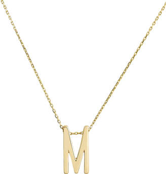 Nickho Rey M Alphabet Necklace