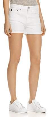AG Jeans Hailey Denim Shorts in White