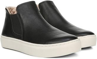 Dr. Scholl's Flatform Leather Sneaker Booties -Awake