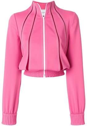 Valentino VLTN Techno contrast stitched track jacket