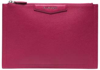Givenchy Pink Antigona Leather Pouch