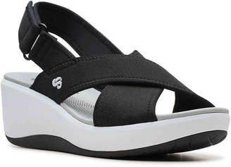 299bf55dd65b Clarks Cloudsteppers by Step Cali Cove Wedge Sandal - Women s