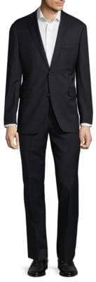 Saks Fifth Avenue Extra Slim Fit Wool Notch Lapel Suit