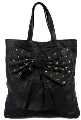 RED Valentino Studded Bow Tote
