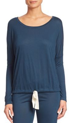 Eberjey Heather Slouchy T-Shirt $69 thestylecure.com