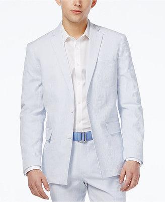 Inc International Concepts Men's Slim-Fit Seersucker Blazer, Created for Macy's $129.50 thestylecure.com