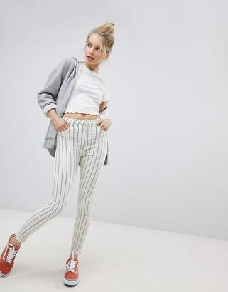 Bershka Stripe Denim Jean