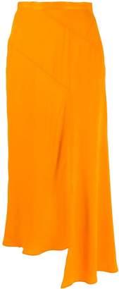 House of Holland asymmetric draped skirt