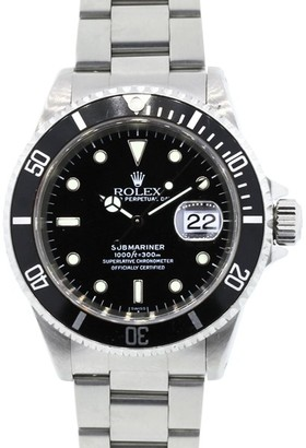 Rolex Submariner 5513 Non Date Black Dial Mens Watch $6,495 thestylecure.com