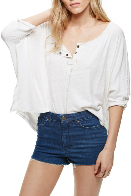 Free People High & Tight Cut Off Short