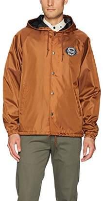 Brixton Men's Merced Standard Fit Hooded Windbreaker Jacket