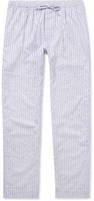 Zimmerli Metropolitan Tropicals Striped Cotton-Poplin Pyjama Trousers