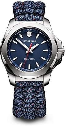 Victorinox Women's I.N.O.X. Stainless Steel Swiss-Quartz Watch with Nylon Strap