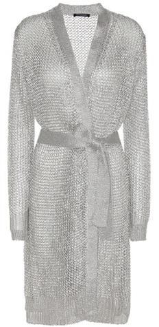 BalmainBalmain Lamé Knitted Cardigan