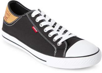 Levi's Black & White Stan Buck Low Top Sneakers