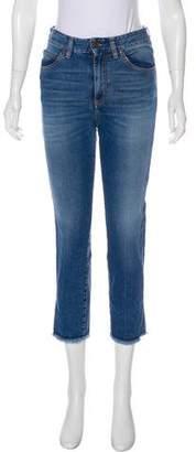 Fiorucci High-Rise Straight-Leg Jeans