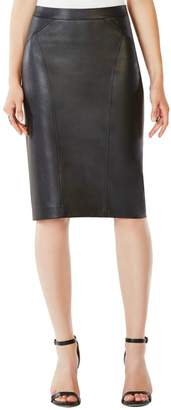BCBGMAXAZRIA Natilie Faux-Leather Skirt
