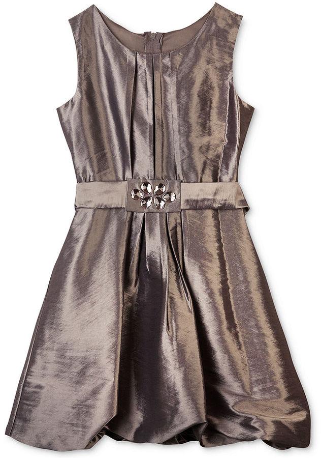 Amy Byer BCX Girls Dress, Girls Belted Bubble Dress