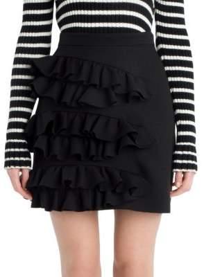 MSGM Ruffle Mini Skirt