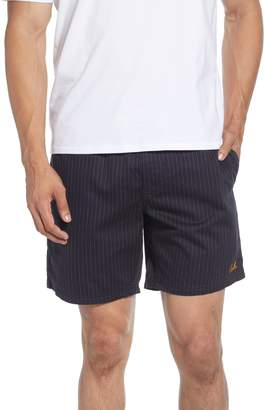 Barney Cools Poolside Pinstripe Drawstring Shorts