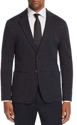 Emporio Armani Houndstooth Regular Fit Sport Coat - 100% Exclusive