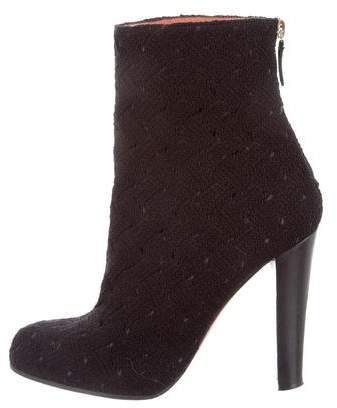 Missoni Woven Ankle Boots