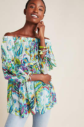 Maeve Frankie Off-The-Shoulder Blouse