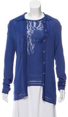 Christian Lacroix Patterned Cardigan Set