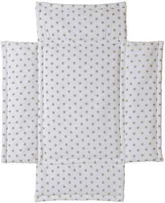 Schardt 13 211 00 00 1/722 Playpen Liner 75x100 cm Big Stars Pattern Beige