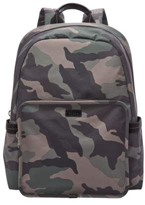 Fossil Travis Backpack Bag Camouflage