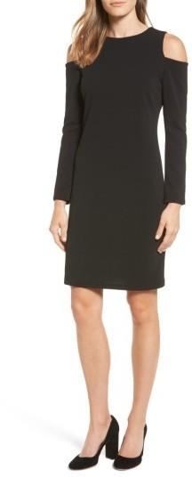 Women's Halogen Knit Cold Shoulder Dress
