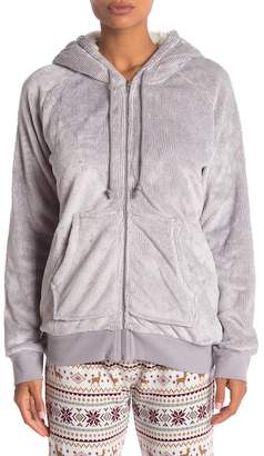 PJ Salvage Cozy Hooded Zip Jacket