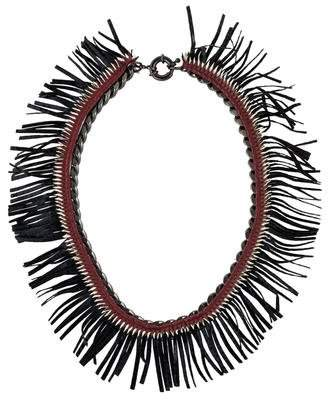 Annelise Michelson Fringe Birdie Necklace