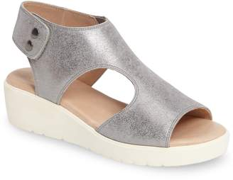 Johnston & Murphy Camilla Slingback Wedge Sandal