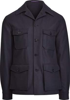Ralph Lauren Wool Flannel Shirt Jacket