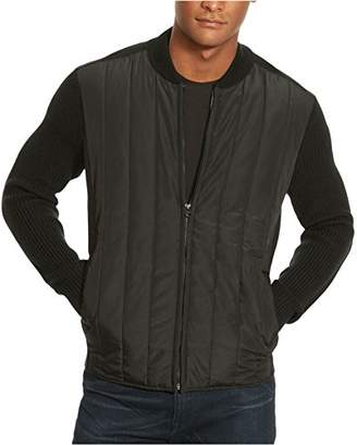 Kenneth Cole New York Men's Nylon Quilted Moto