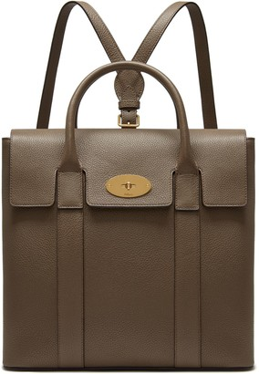 Mulberry Bayswater Backpack Clay Small Classic Grain 569d55c81b