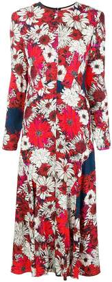 Cédric Charlier floral-print dress