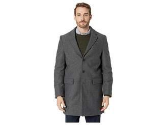 Calvin Klein Herringbone Overcoat