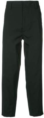 Haider Ackermann cropped tapered trousers