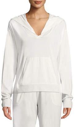 Skin Jayden Pima Cotton Jersey Pullover Hoodie