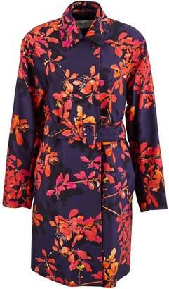 Dries Van Noten Printed trench coat