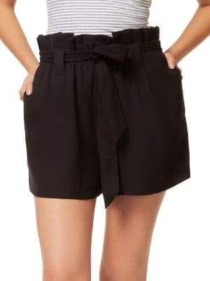 Dex Classic Self-Tie Paperbag Shorts