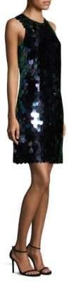 Aidan Mattox Large Pailette Dress