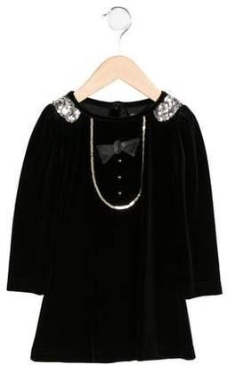 Billieblush Sequined Velvet Dress w/ Tags